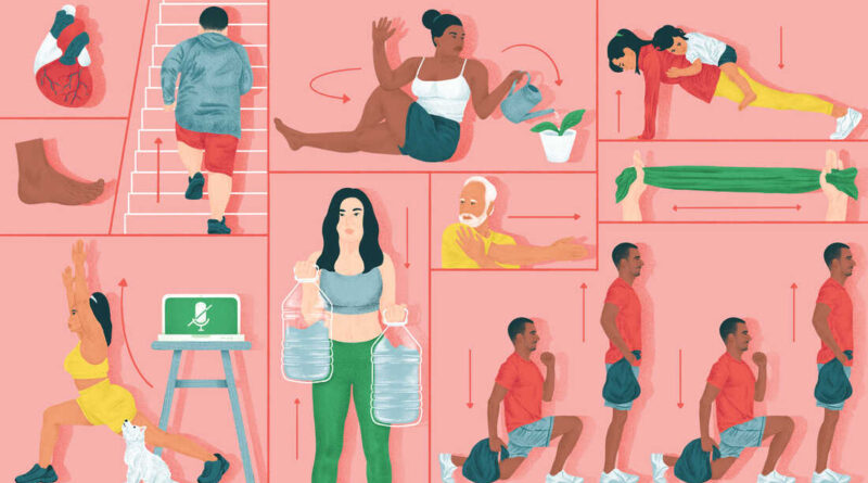 Short home workouts can boost your mood and reduce stress : Shots – Health News – NPR